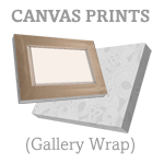 Gallery Wrap Canvas Example