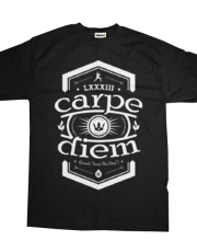 Carpe Diem - Black Shirt