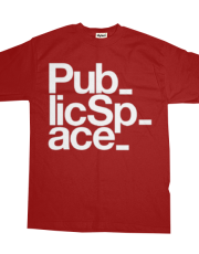 Public Space T-Shirt (Hyphenated)