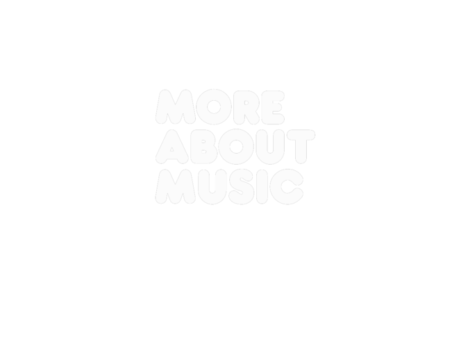 More About Music (Limited Edition) Black & White... it doesn't really matter