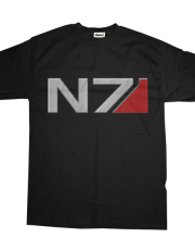 N7 Brushed Steel Effect