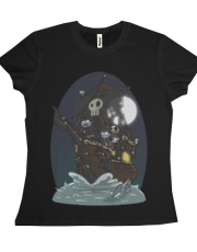 Undead Pirate Ship Tee