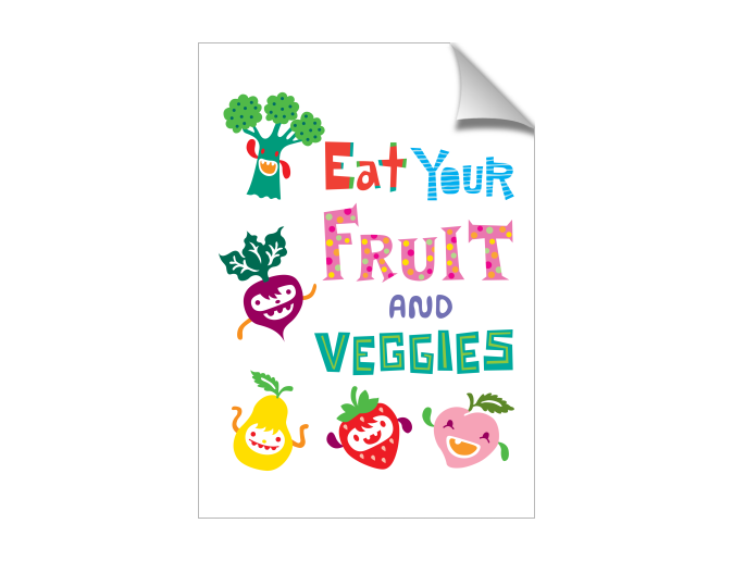 Eat Your Fruit and Veggies