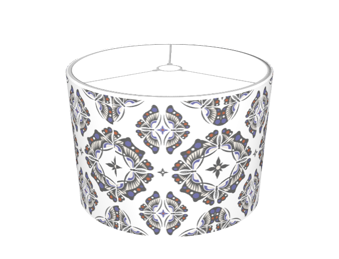 Butterfly Ornamental - lampshade
