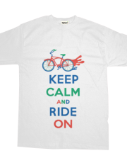 Keep Calm Ride On - cruiser t  primary