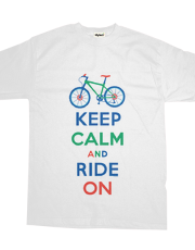 Keep Calm Ride On - mountain bike - multi