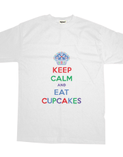 Keep Calm and Eat Cupcakes primary t