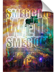 Red Dwarf Smeg Off 2 Print