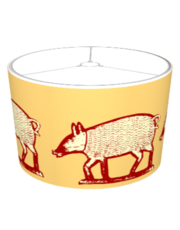 This Little Piggy Went to Market - Yellow & Red