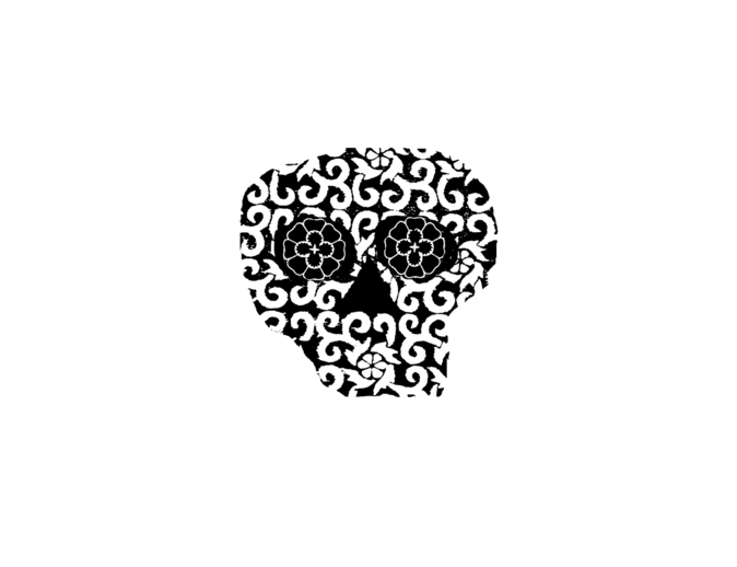 Primitive Skull Black
