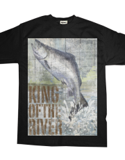 Open Season King Salmon- Art Licensing Studio