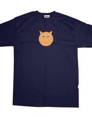 Asteroid Family Orange Cat T-shirt