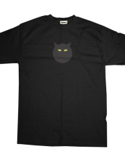 Asteroid Family Dark Grey Cat T-shirt