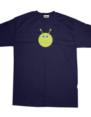 Asteroid Family Green Dog T-shirt