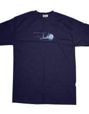 Asteroid Family Brother Flying T-shirt