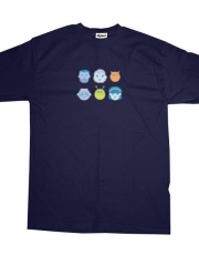 Asteroid Family Heads T-shirt