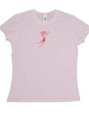 Red Fairy Flying T-shirt