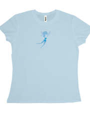 Blue Fairy Flying T-shirt