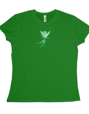 Green Fairy Flying T-shirt