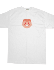 Red Boy T-shirt (white)