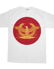 Roman Golden Eagle on Red
