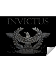 Invictus Iron Eagle on Black