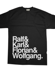 Ralf & Karl & Florian & Wolfgang make a band called Kraftwerk