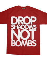 Drop shadows not bombs