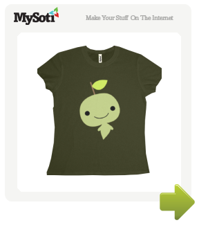 berrysprite leafy guy tee by berrysprite. Available from MySoti.com.