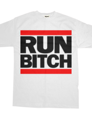 RUN BITCH (Black)
