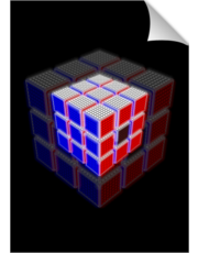 L.E.D Light Out Rubik's Cube