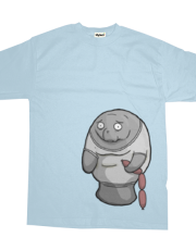 Manatee In a Tee