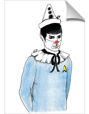 Spock the Clown