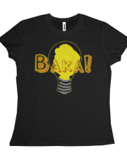 Baka! Light bulb Girl's Tee