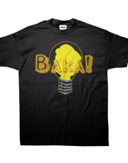 Baka! Light bulb Kid's Tee