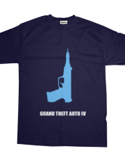 Minimalist Game Tees - Grand Theft Auto IV