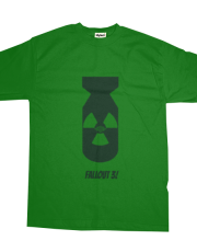 Minimalist Game Tees - Fallout 3