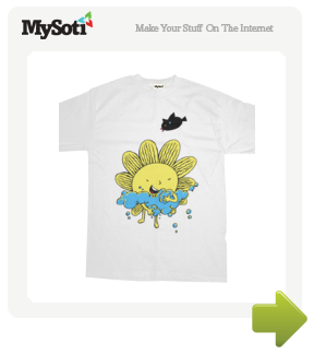 The Bathing Sun tee by coffeebeanking. Available from MySoti.com.