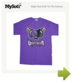 Displacer Beasts Team Shirt tee by ComfyCushion. Available from MySoti.com.