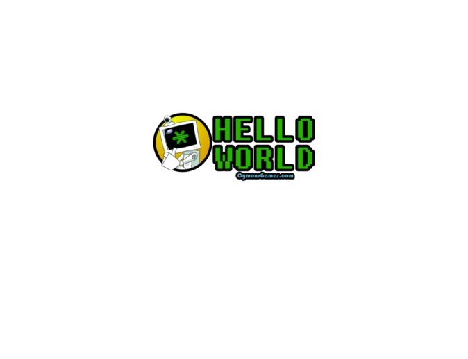 Cymon's Games Hello World Mens