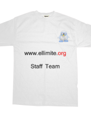 Ellimite.org - T-shirt Staff Team