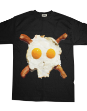 Bacon Eggs Pirate Skull