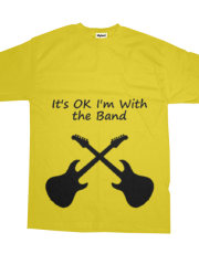 I'm with the band (black)