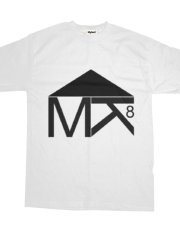 T-Shirt white MK8 (color)