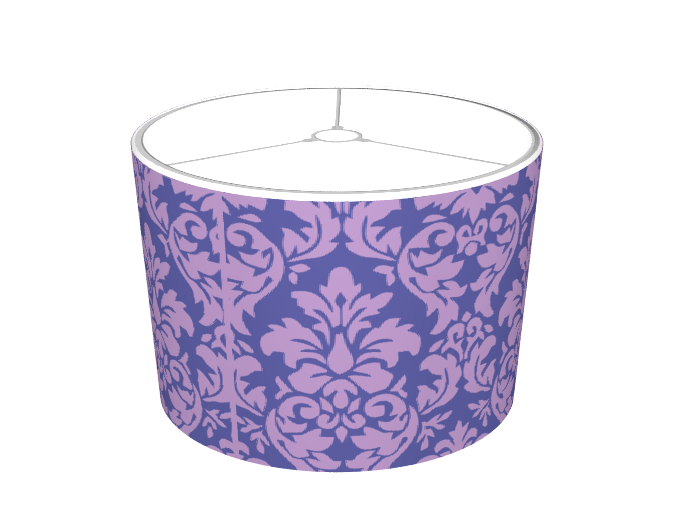 Mysoti dpeagreendesigns african violet blue iris damask african violet blue iris damask lampshade mozeypictures Gallery