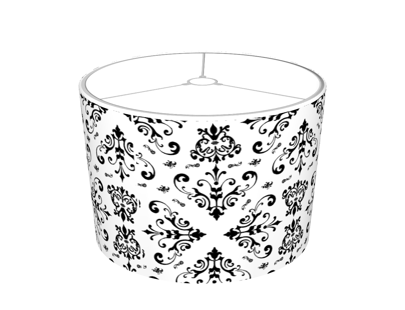 Mysoti dpeagreendesigns black white damask 23 lampshade black white damask 23 lampshade aloadofball Image collections