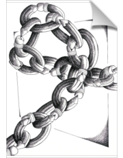 Pencil Link Chain