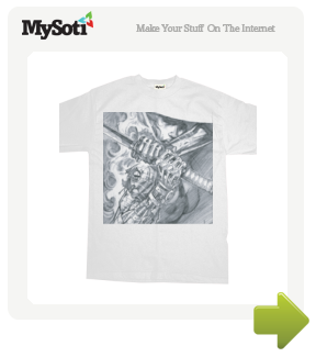 Galtow3 tee by END. Available from MySoti.com.