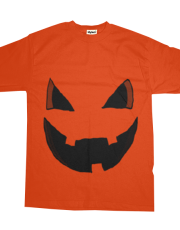 Evil Pumpkin Face Shirt