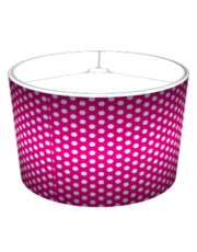 Magenta Polka Dot - with gradient.